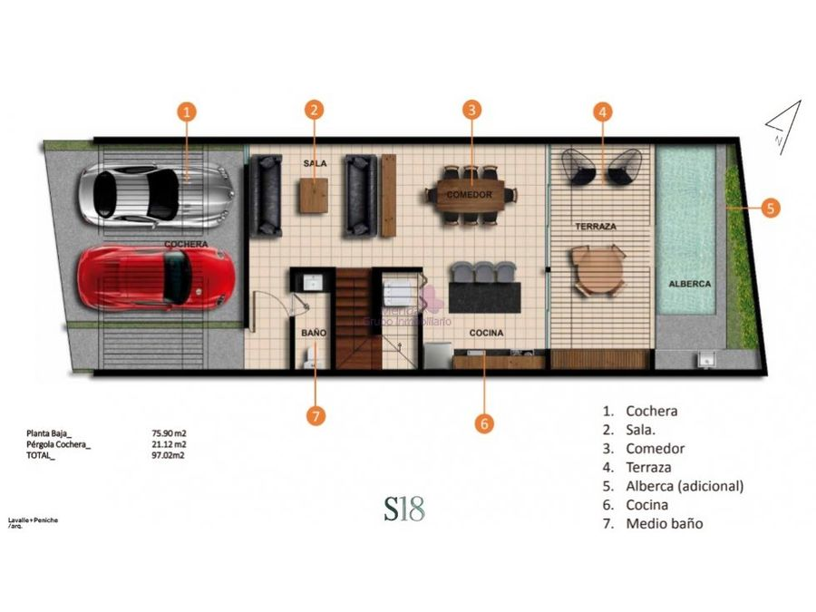 town house en venta en temozon norte merida