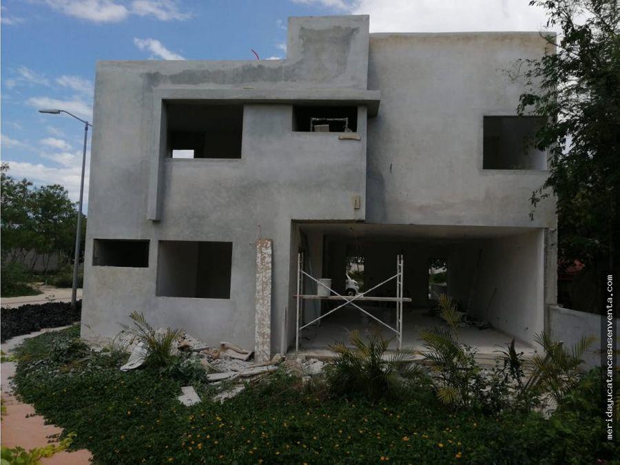 casa en venta en altozano merida