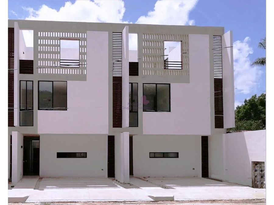 town houses en renta en benito juarez norte merida