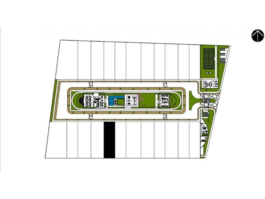 terreno residencial en venta en privada silvano cholul merida