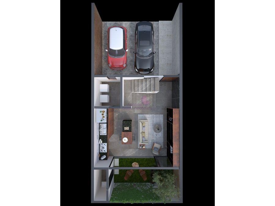 casas tipo town house en venta en montes de ame merida