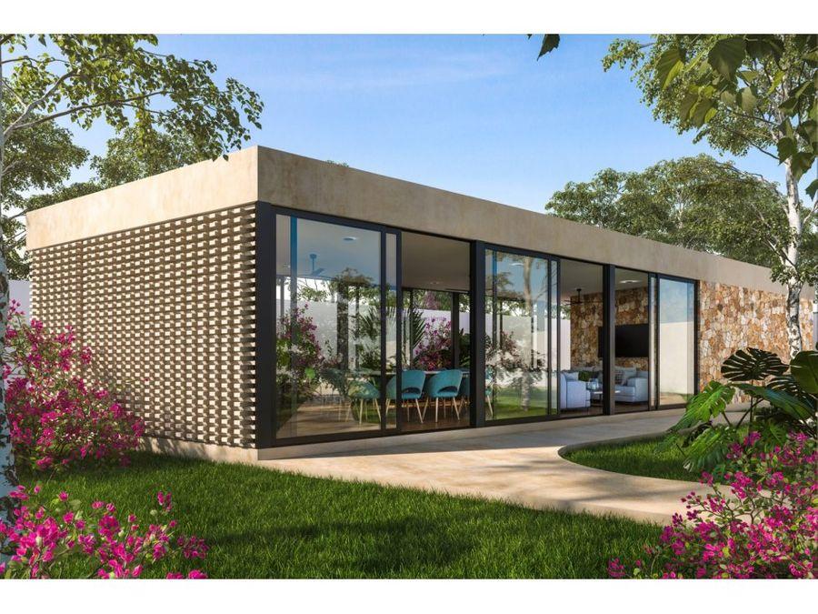 casa en venta en cholul merida de 4 habitaciones