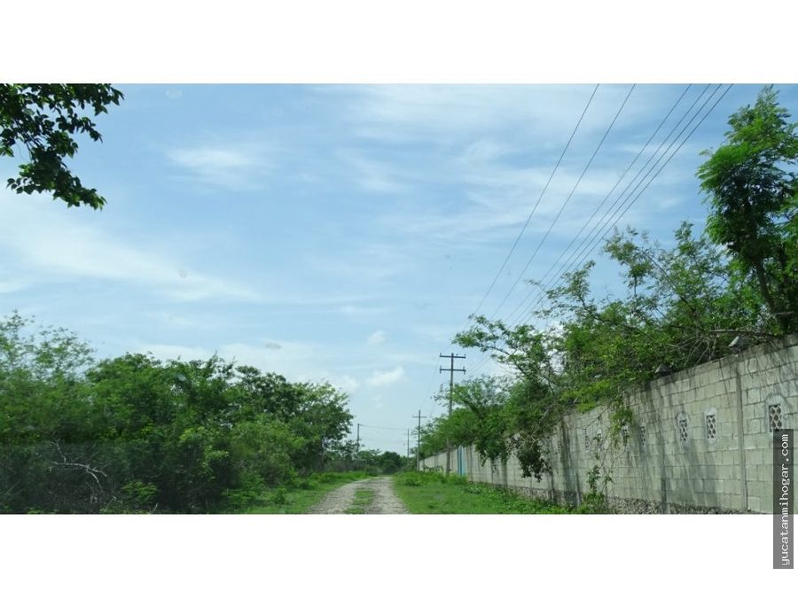 terrenos en venta en kanasin teya