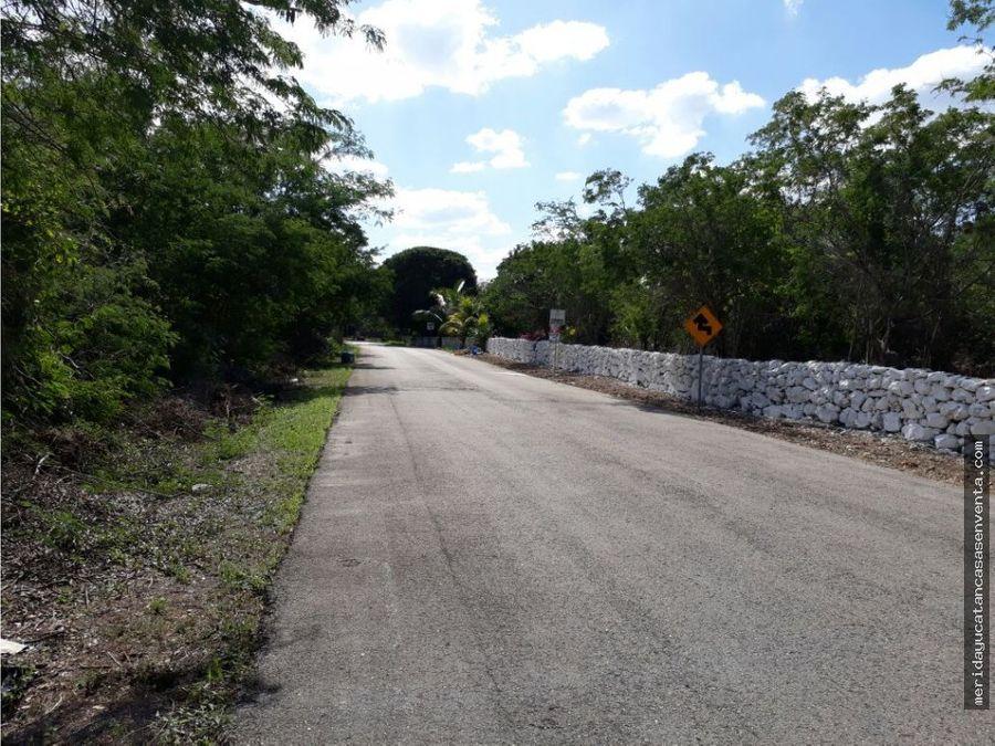 terreno en venta de 5 hectareas suytunchen merida