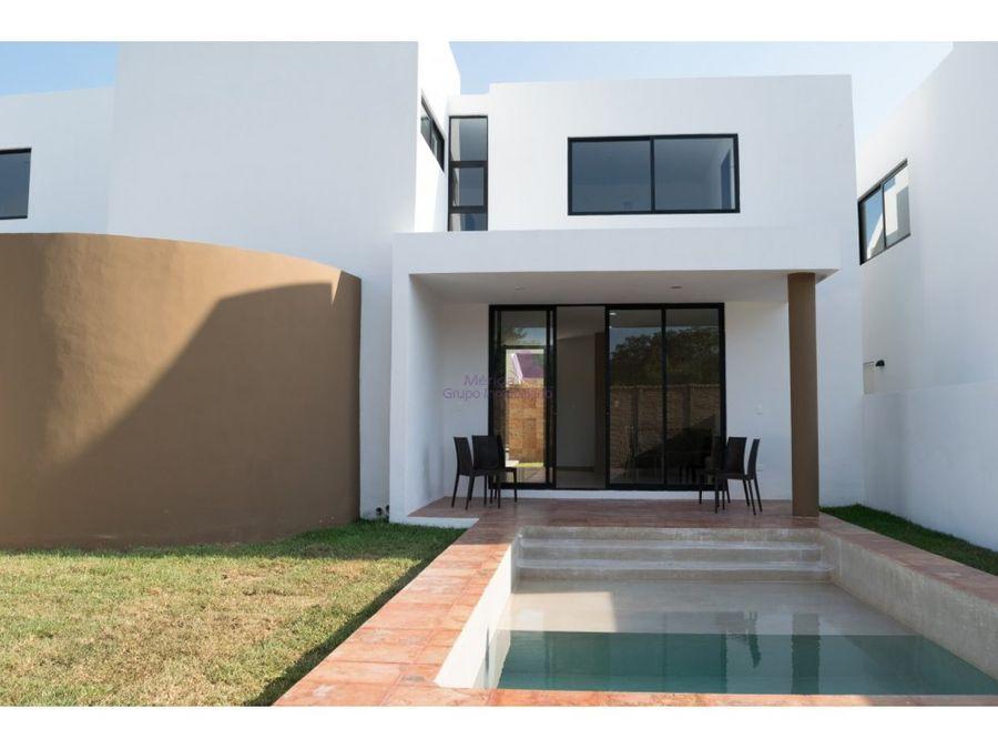conkal casas en venta en privada mediterrania