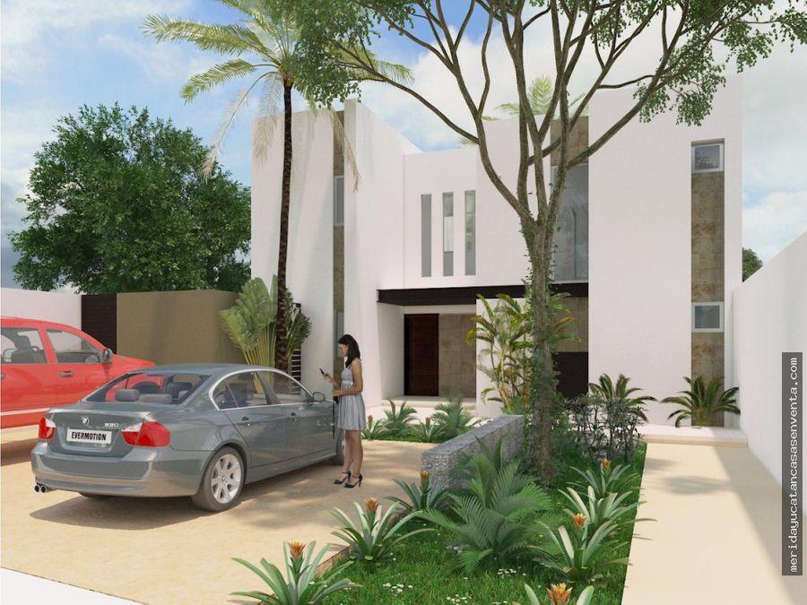 casa en dzitya en pre venta con terreno amplio