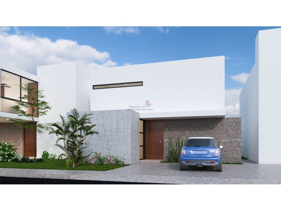 casas en venta de una planta en conkal