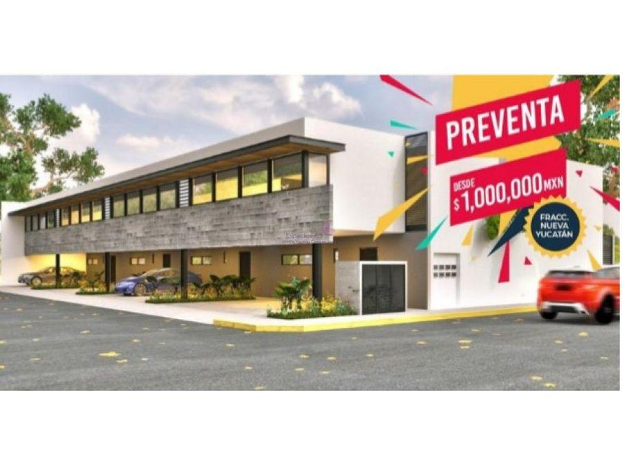 departamentos en venta en col nuevo yucatan