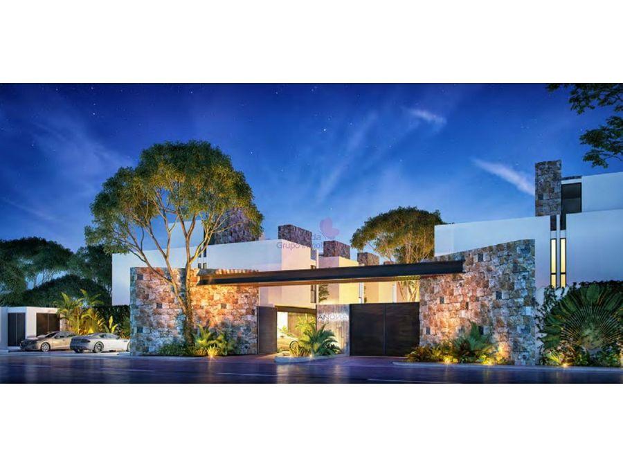 town houses 3 habitaciones en venta temozon
