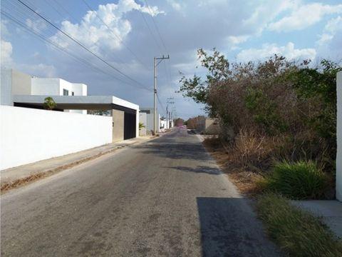 terrenos residenciales en venta en dzitya merida