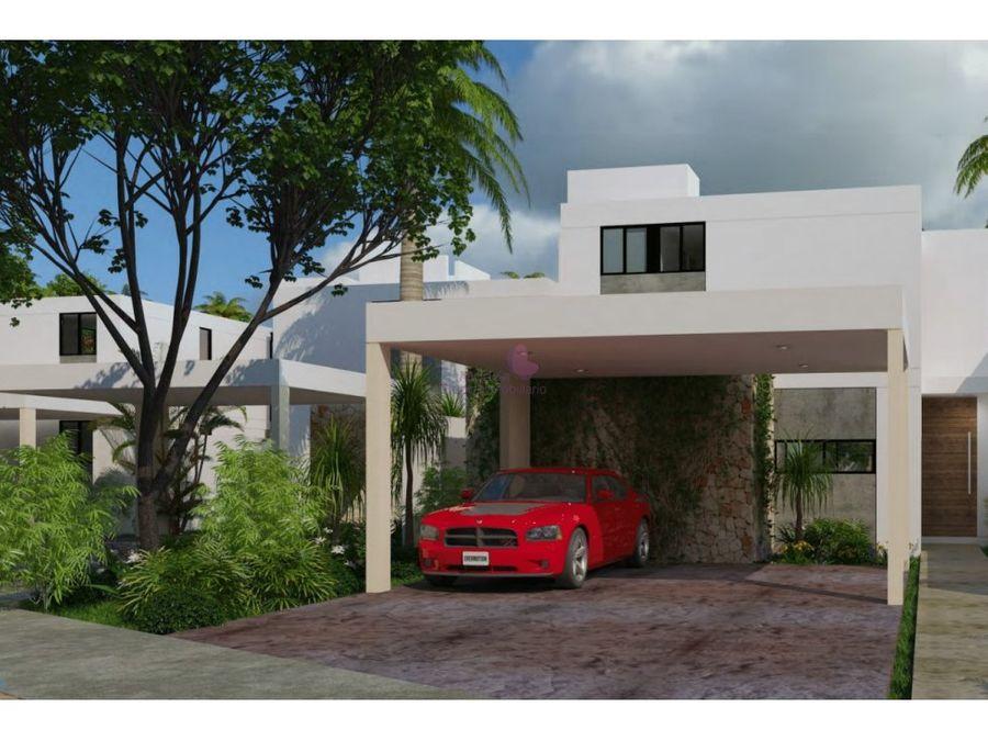 conkal merida casa en venta en privada aleza