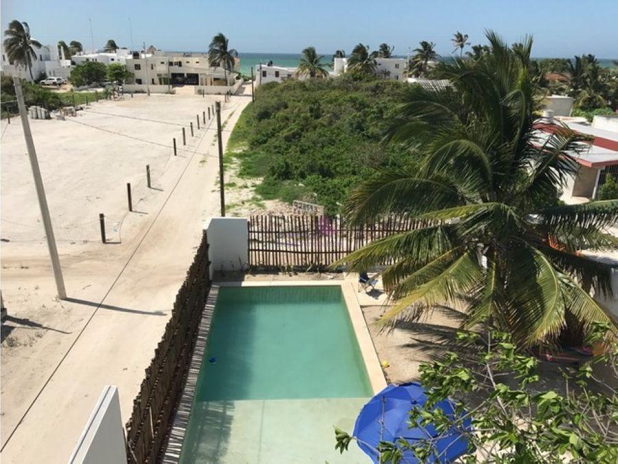 casa en venta en chicxulub a 100mts de la playa