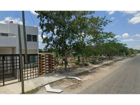 terreno residencial en venta en cholul merida con todos los servicios