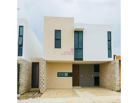 town house en venta en dzitya merida