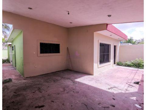 casa en venta en colonia mayapan cerca plaza patio merida