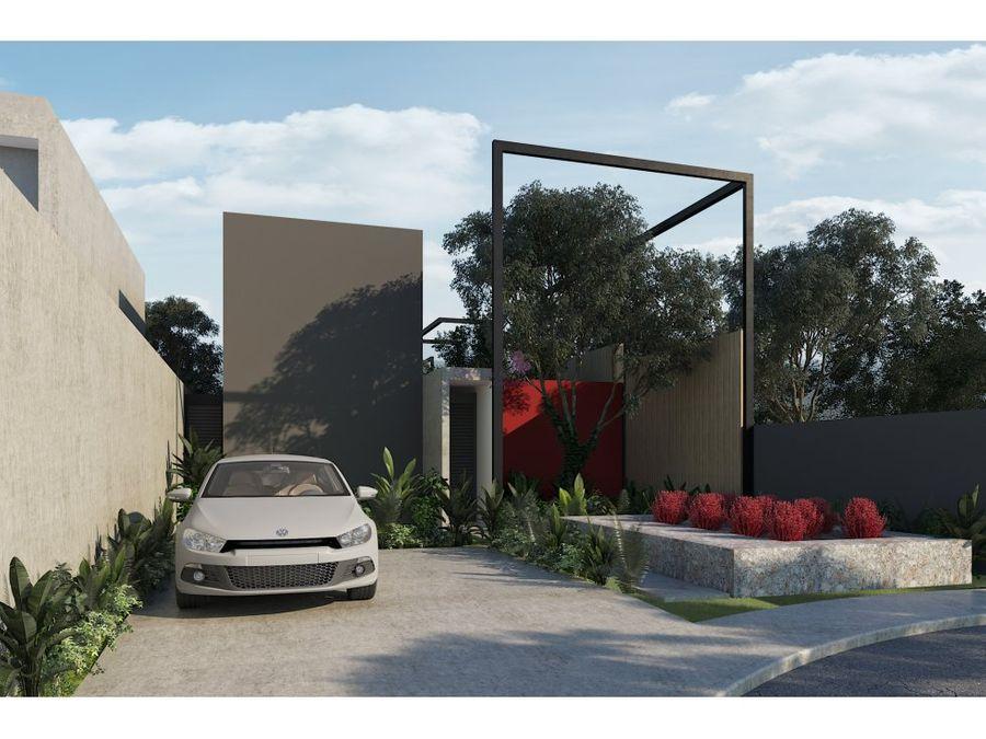 casa en venta en conkal merida privada 68