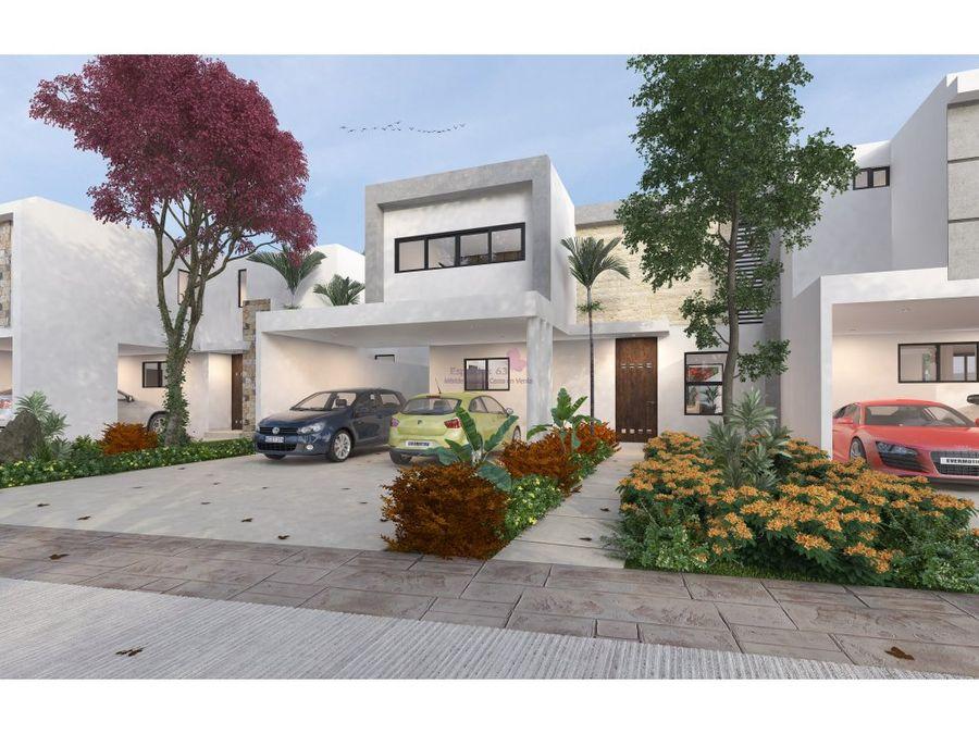 casas en venta en privada amaranto merida