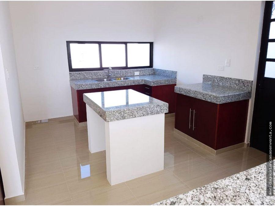 casa nueva en venta en dzitya