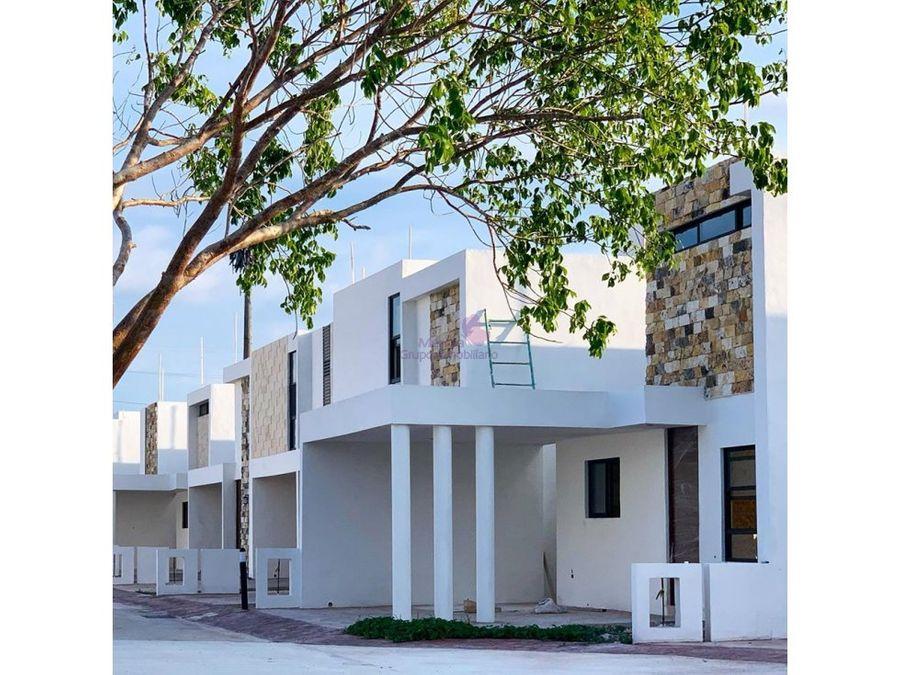 casas en venta en privada botanico conkal merida