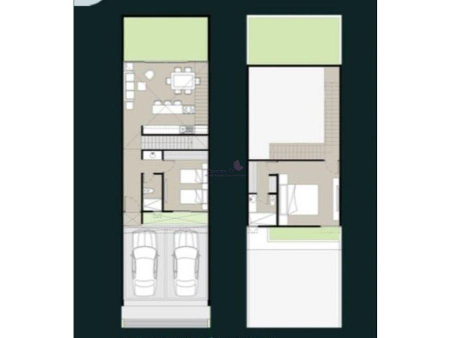 town house en venta en montebello merida