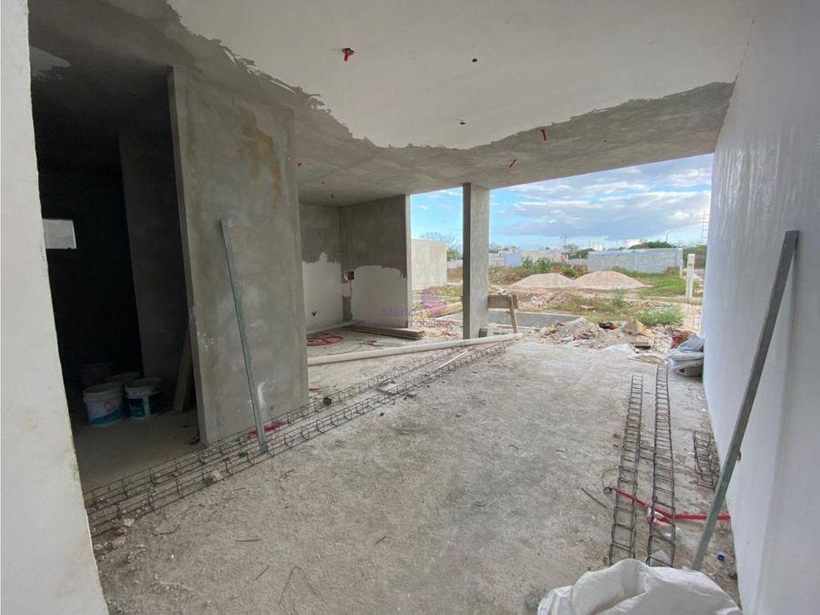 casas nuevas en venta en chichi suarez merida