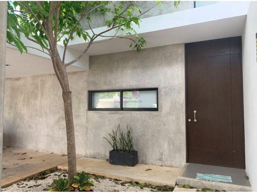 casa en venta en privada san gabriel cholul