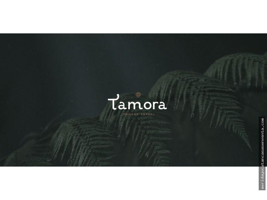terrenos residenciales en venta en tamora conkal
