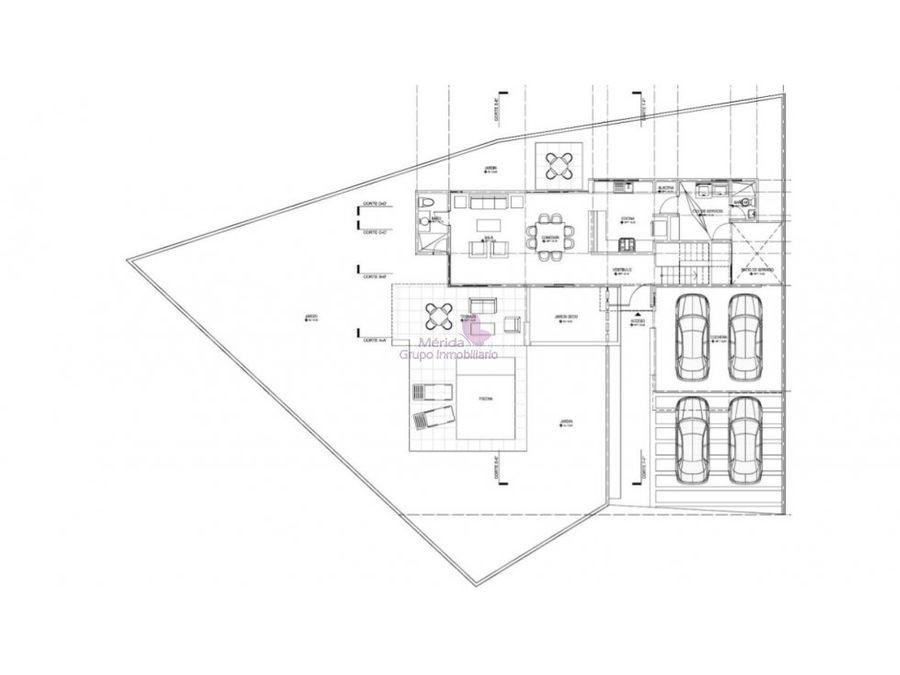casa venta amueblada y semi nueva en cholul