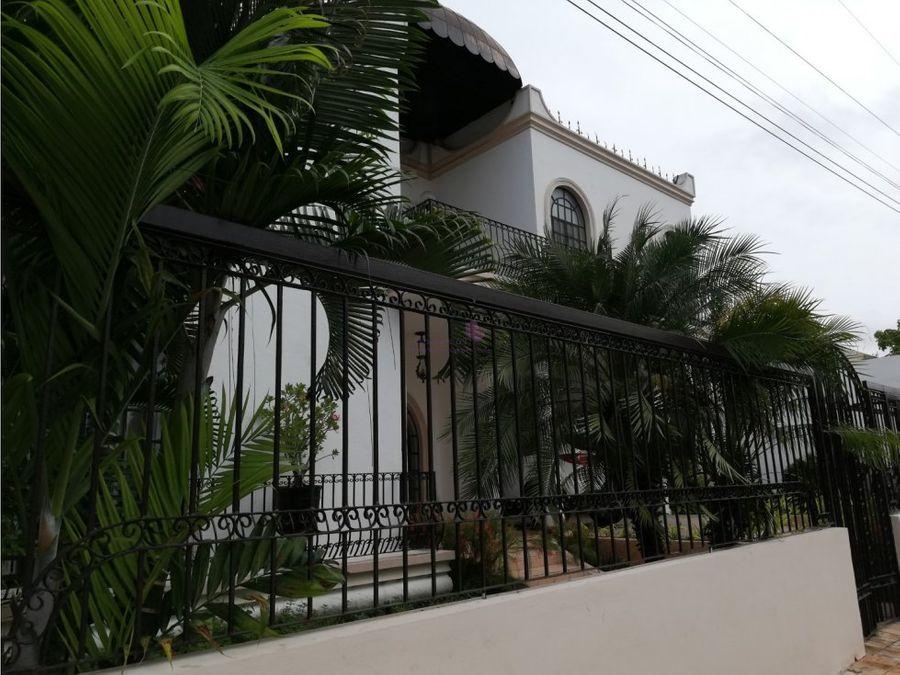 casa en venta en col campestre merida