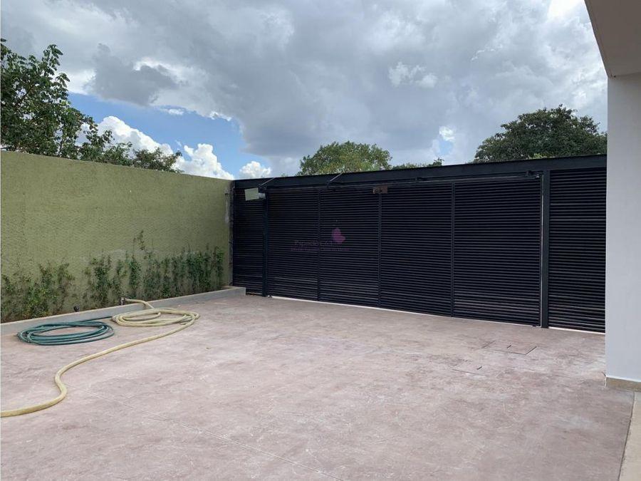 town houses volu en venta en temozon norte merida