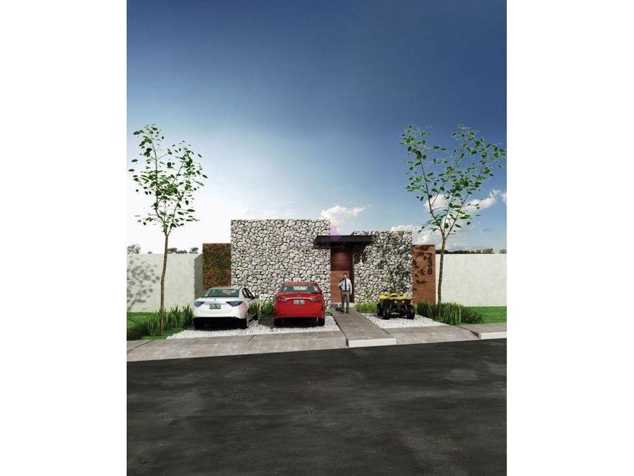 casas nuevas de una planta en venta en merida