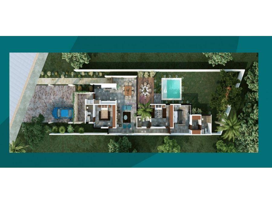 casas en venta de una planta residencial aleza conkal
