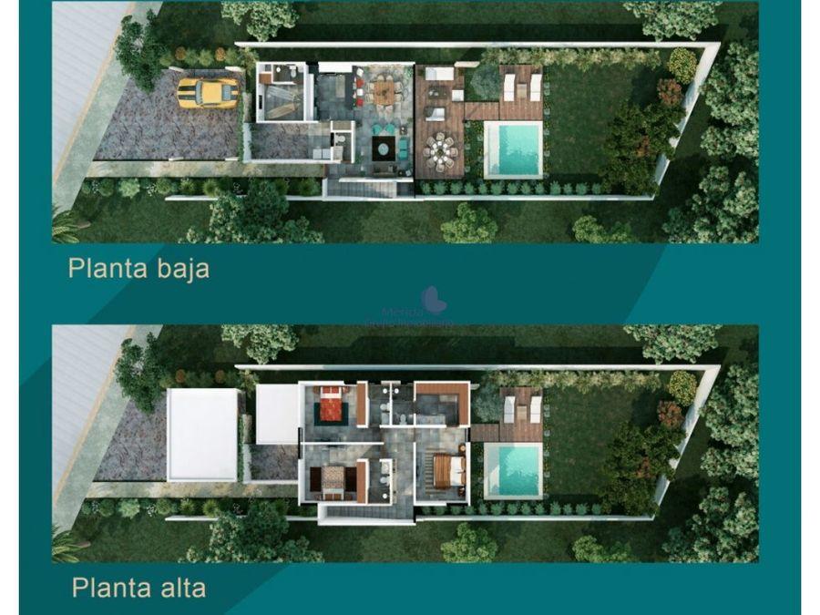 viva en conkal en privada aleza residencial casas en venta