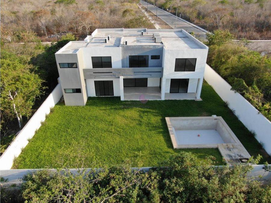 casa en nueva en venta en privada phula merida