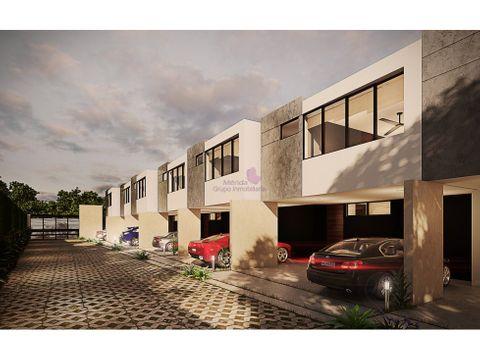 town house en venta en temozon merida lumkah