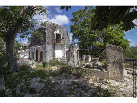 hacienda para restaurar en venta en yucatan