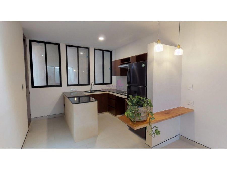 departamento 2 habitaciones en venta helia merida