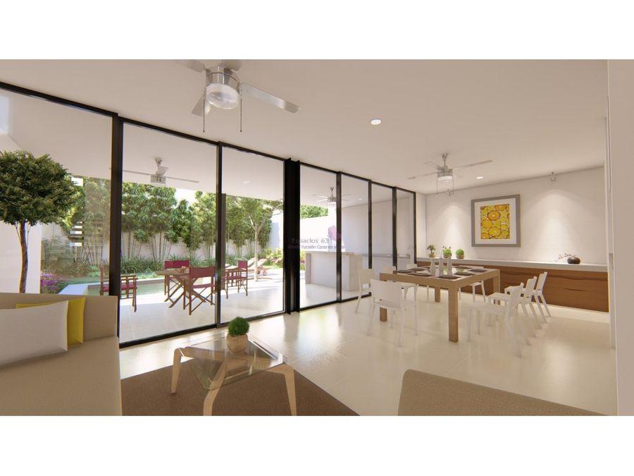 casa en venta en privada arborea conkal