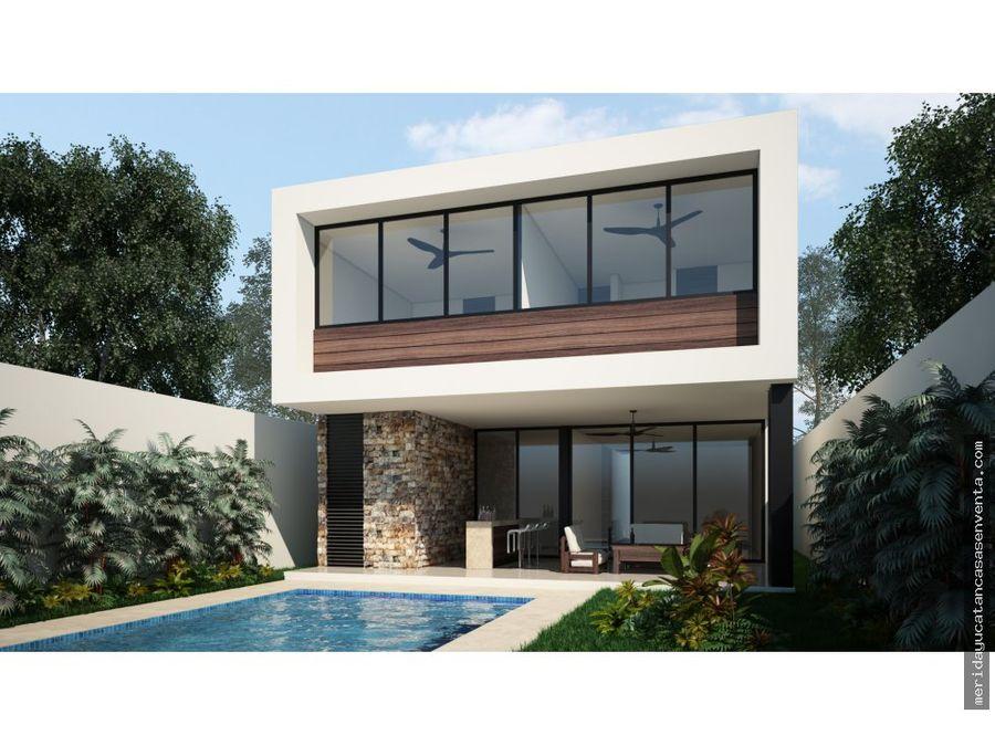 casa en venta en privada silvano merida
