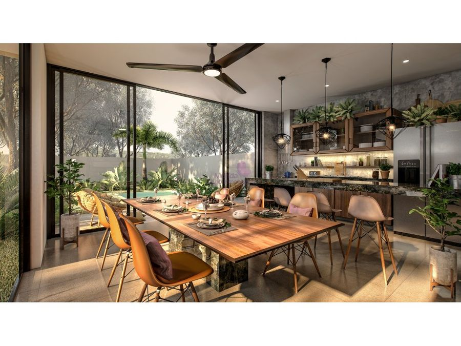 casa en venta en conkal privada praderas del mayab