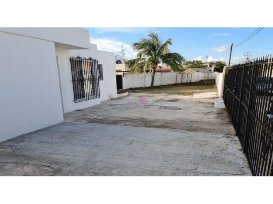 casa en venta en fracc brisas merida con terreno grande