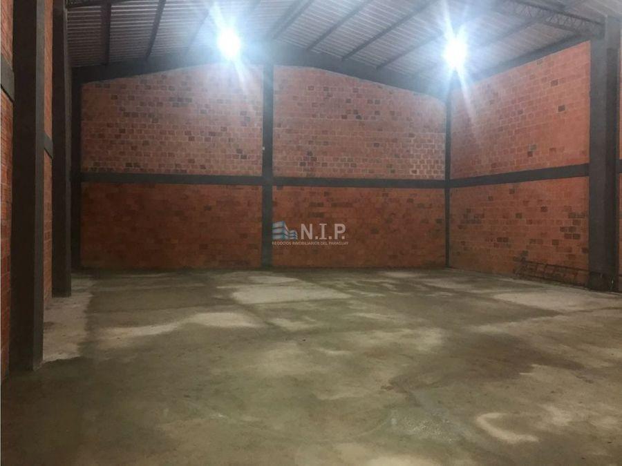 alquilo deposito de 360 m2 en mra