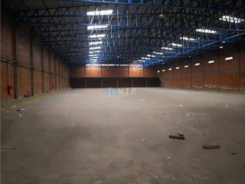 alquilo tinglado de 2000 m2 en san antonio