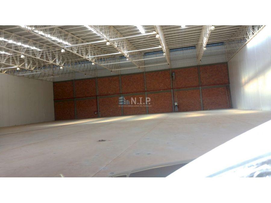 alquilo tinglado de 1700 m2 en parque logistico