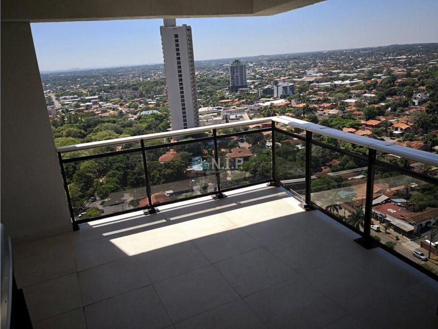 exclusivo departamento amoblado en the tower
