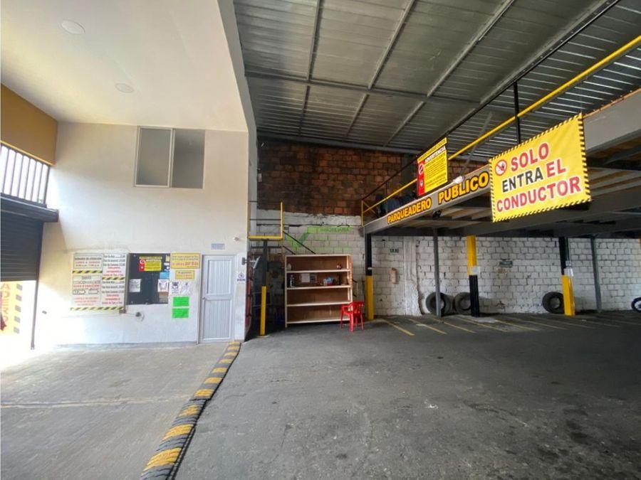 se vende parqueadero en el centro de pereira