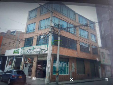 se vende edificio con renta en suba bogota