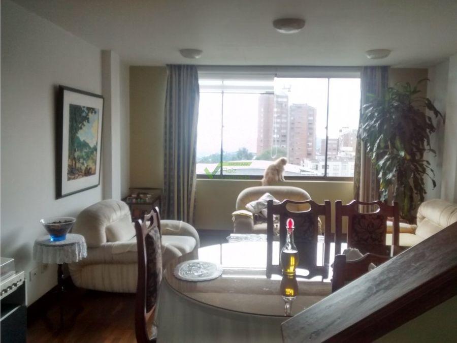 se alquila apartamento duplex en palermo manizales