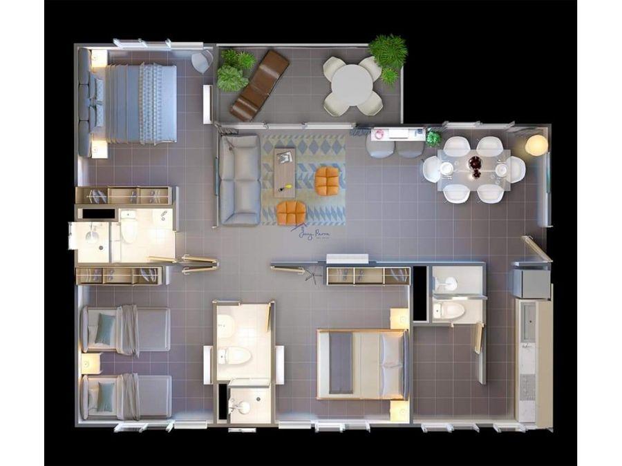 proyecto las palmas cartagena 42 m2