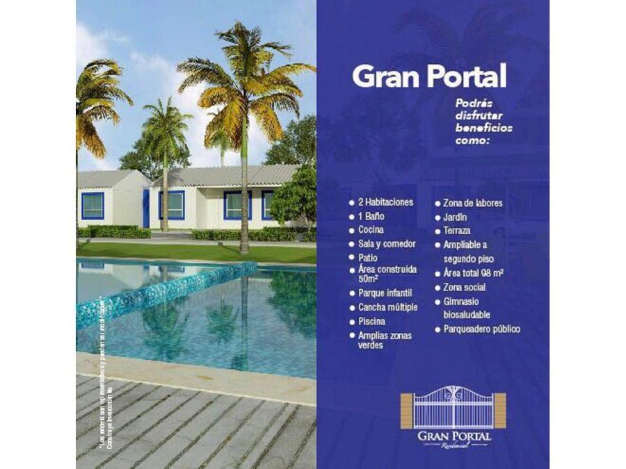 casas gran portal cartagena de indias